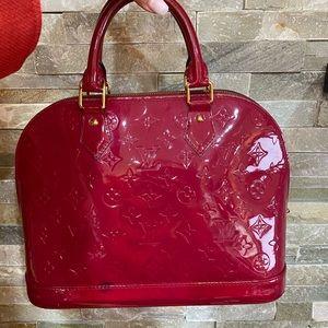 Louis Vuitton Vernis Alma bag